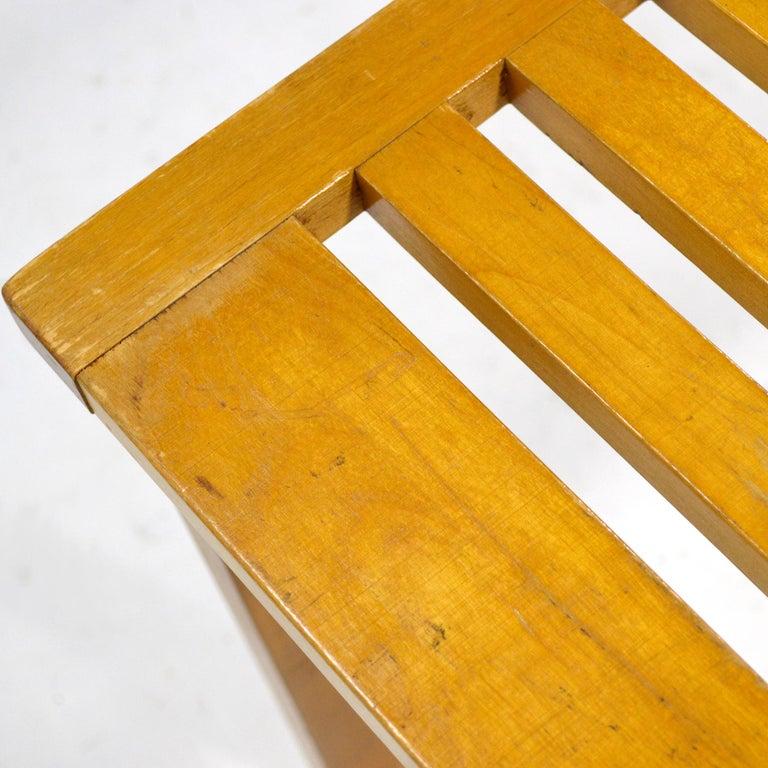 Alvar Aalto L-Leg Bench/ Table Model 106 For Sale 2