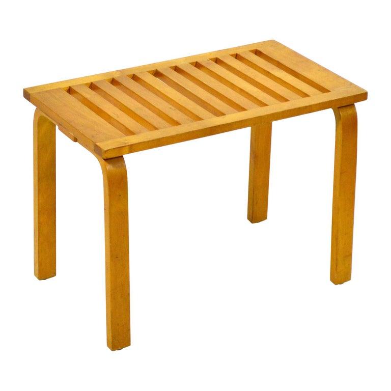 Alvar Aalto L-Leg Bench/ Table Model 106 For Sale