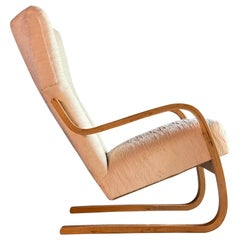 Alvar Aalto Model 36 / 401 Cantilever Lounge Chair by Finmar, Finland circa 1940