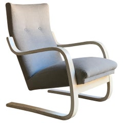 Alvar Aalto Model 401 Lounge Chair By OY Huonekalu-Ja Rakennustyötehdas AB 1938
