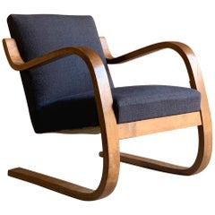 Alvar Aalto Model 402 Lounge Chair, circa 1930s
