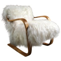 Alvar Aalto Model 402 Lounge Chair for Finmar, circa 1930s