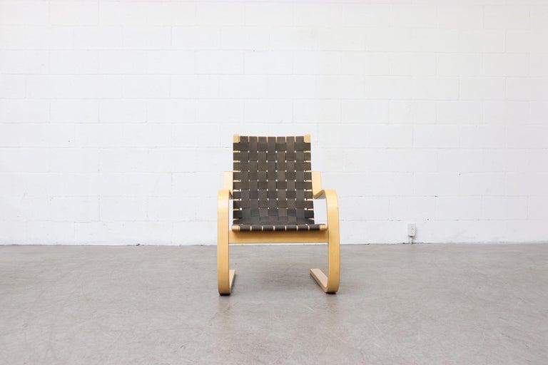 Alvar Aalto Model 406 Lounge Chair By Artek For Sale At