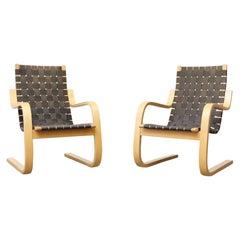 Alvar Aalto Model 406 Lounge Chair by Artek