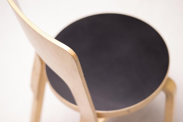 Finnish Alvar Aalto Model 66 Chairs For Sale