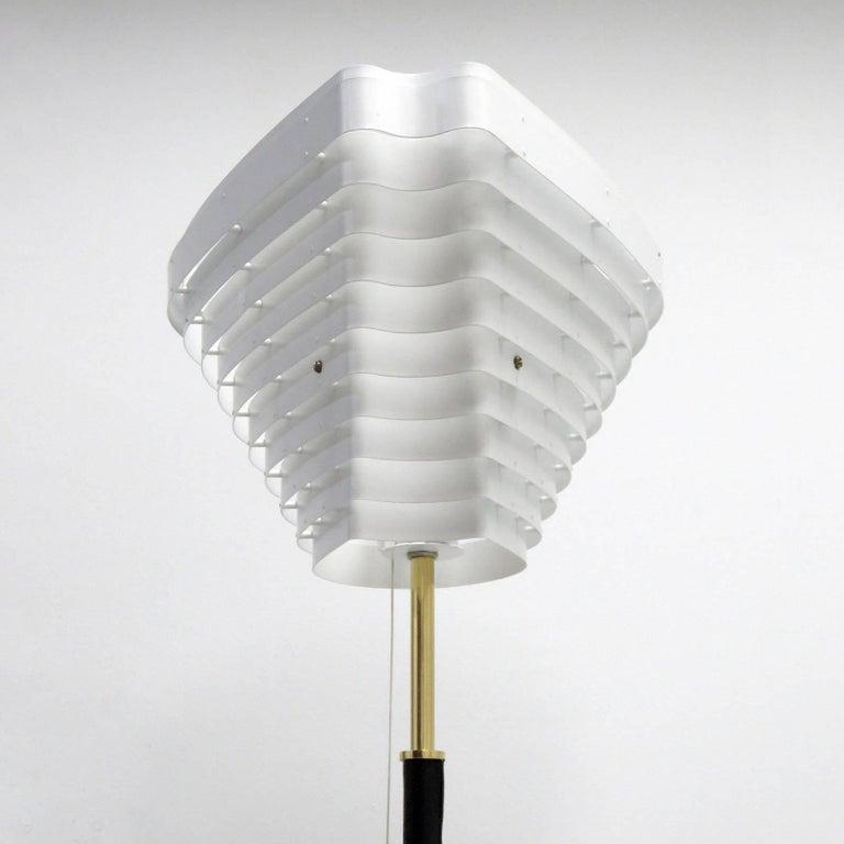 Scandinavian Modern Alvar Aalto Model A805 'Angel Wing' Floor Lamp For Sale