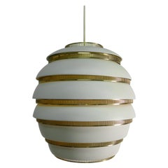 Alvar Aalto, Original Production Larger Size Beehive Lamp, Valaistustyo Ky