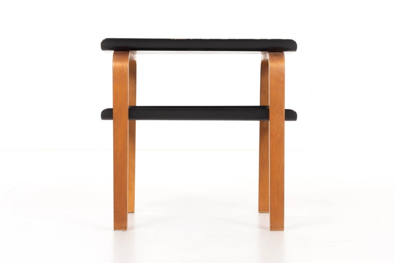 Alvar Aalto designed this table, along with several other of his most iconic works, for the Paimio Sanatorium project in Finland in 1932. Later produced by Artek.