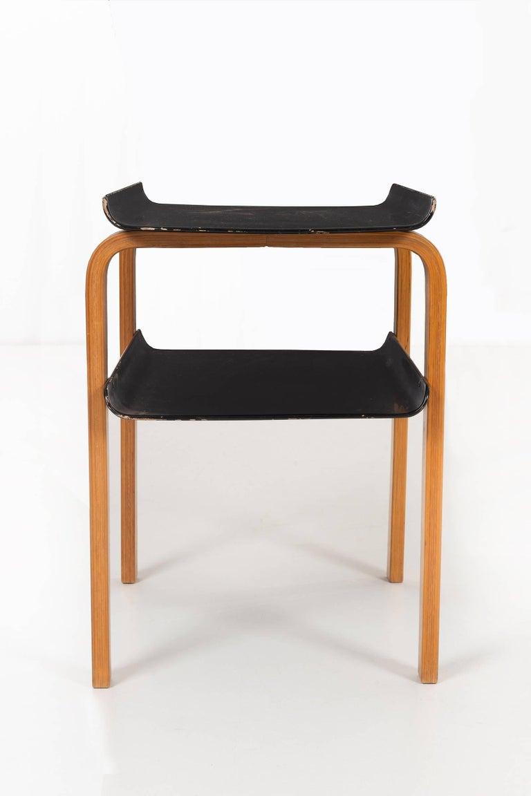 Molded Alvar Aalto Paimio Side Table for Artek For Sale