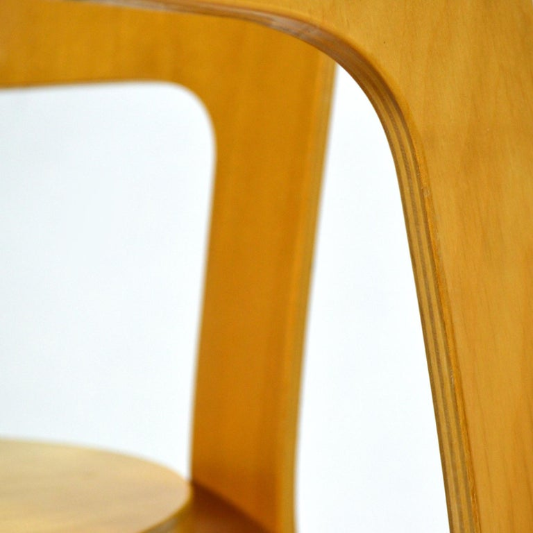 Birch Alvar Aalto Pair of Model 66 Chairs For Sale