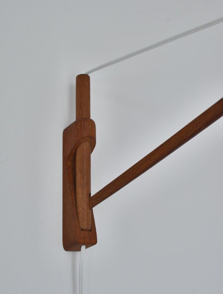 Alvar Aalto Pendant Wall Lamp, Louis Poulsen, 1960s Scandinavian Modern For Sale 4