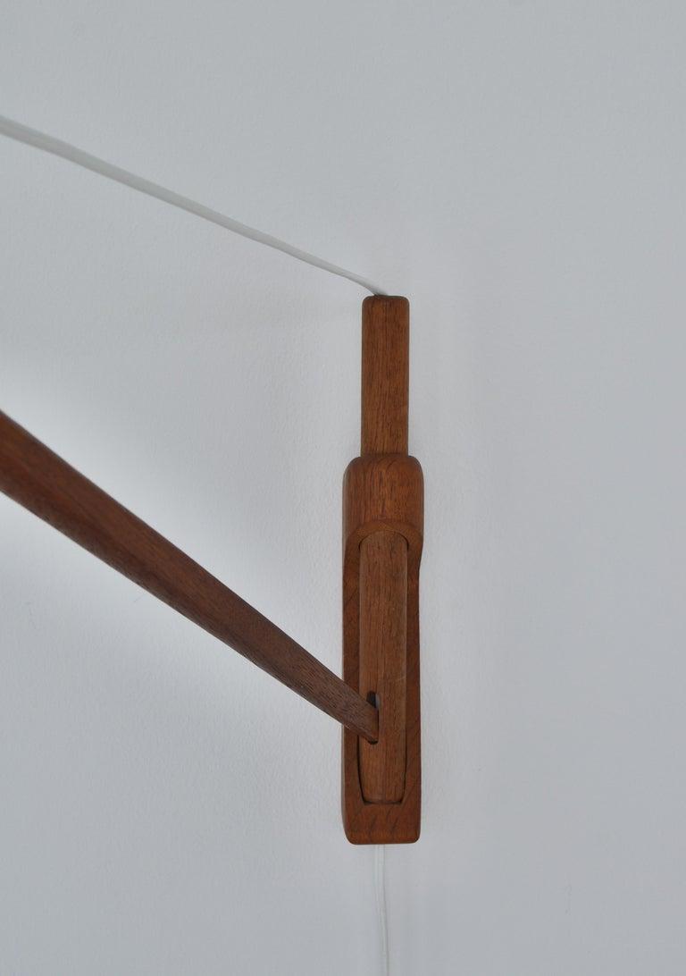 Alvar Aalto Pendant Wall Lamp, Louis Poulsen, 1960s Scandinavian Modern For Sale 6