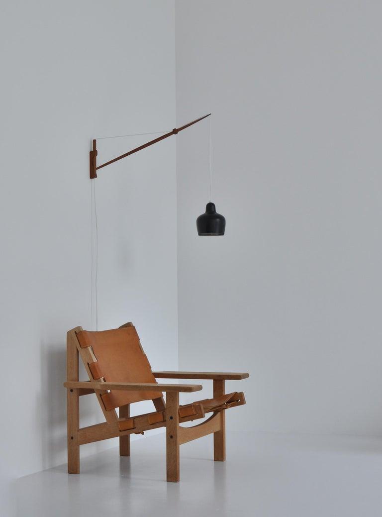 Alvar Aalto Pendant Wall Lamp, Louis Poulsen, 1960s Scandinavian Modern For Sale 8