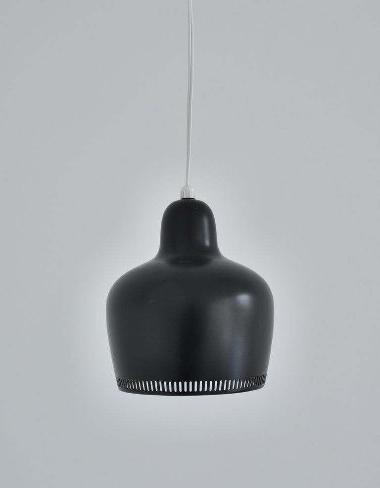 Alvar Aalto Pendant Wall Lamp, Louis Poulsen, 1960s Scandinavian Modern For Sale 2