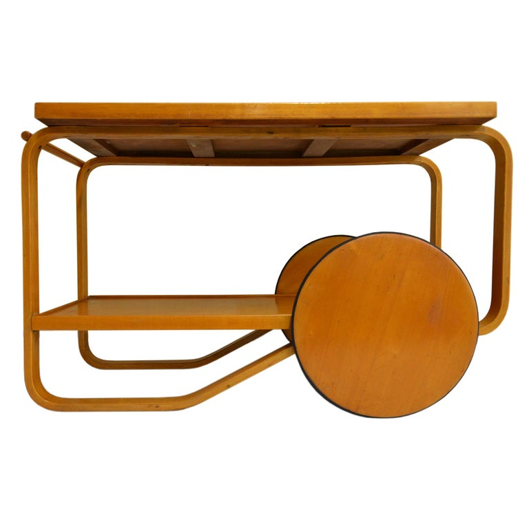 Alvar Aalto Rolling Cart For Sale