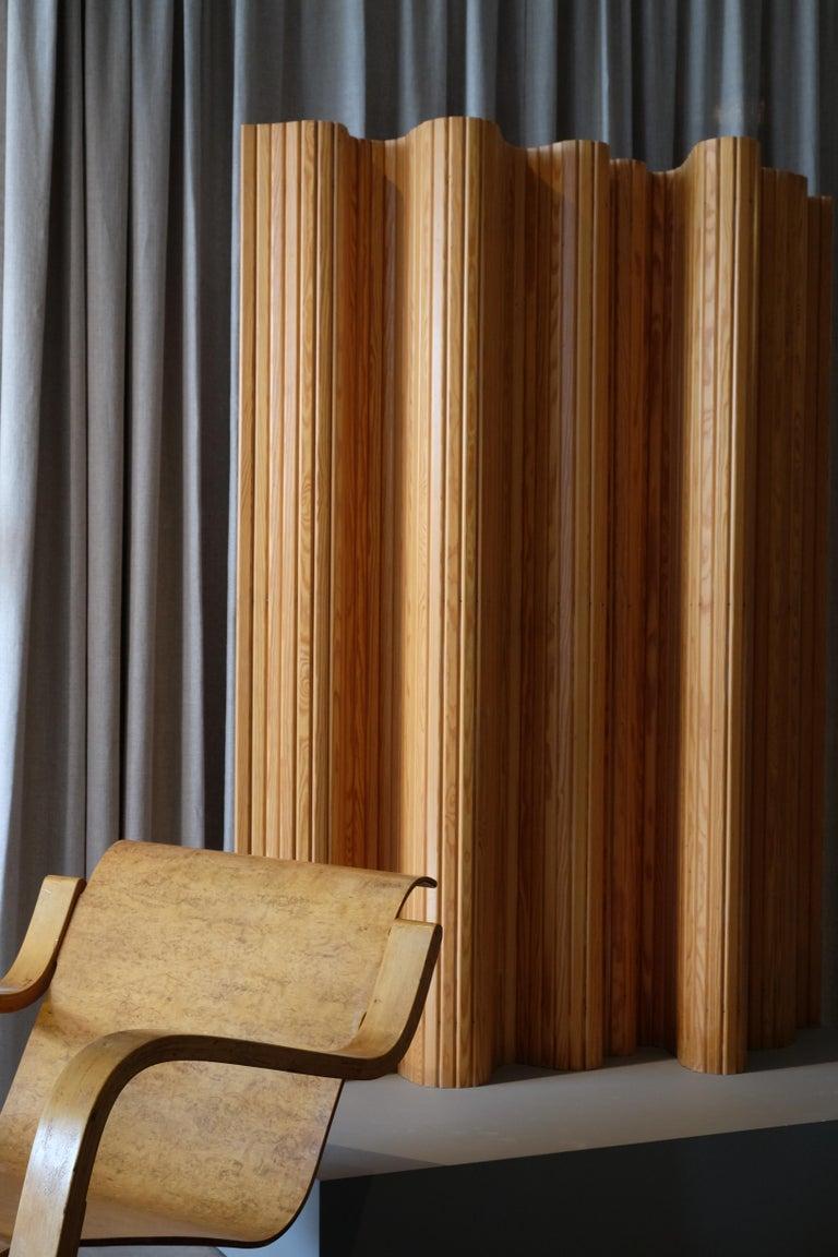 Scandinavian Modern Alvar Aalto Room / Screen Divider, Finland, 1950s For Sale