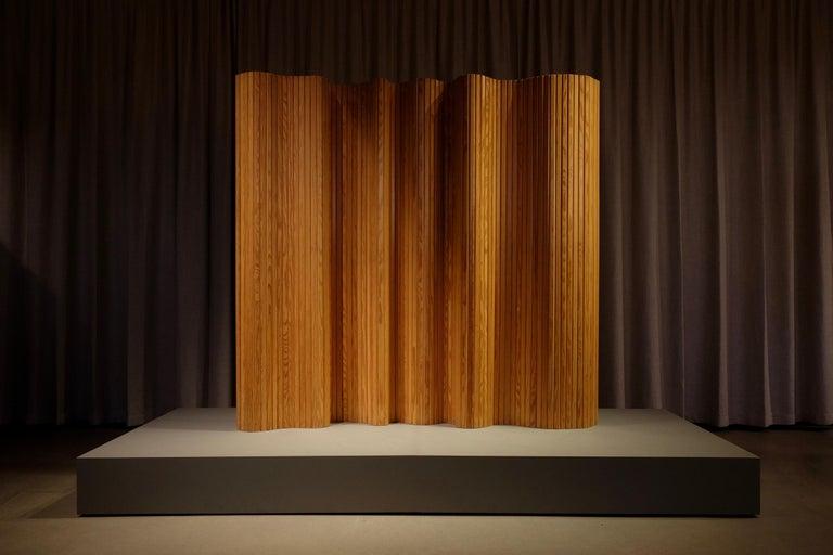 Alvar Aalto Room / Screen Divider, Finland, 1950s For Sale 1
