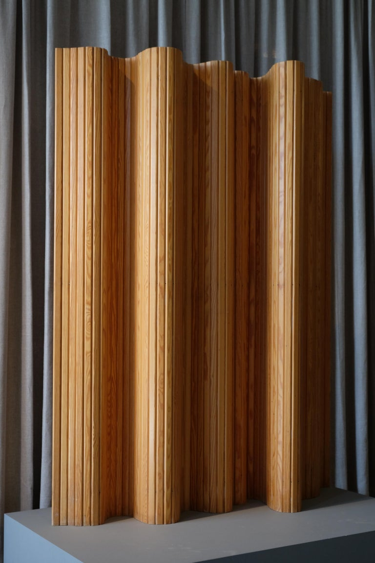 Mid-20th Century Alvar Aalto Room / Screen Divider, Finland, 1950s For Sale