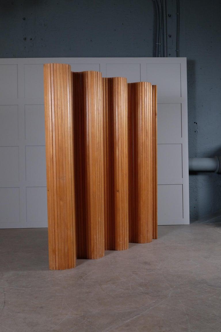 Scandinavian Modern Alvar Aalto Room / Screen Divider, Finland, 1960s For Sale