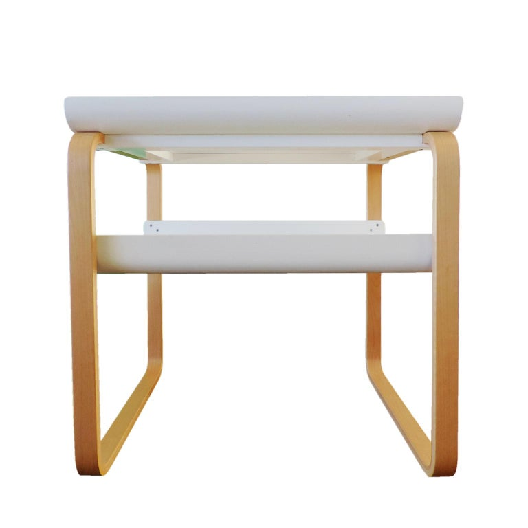 Finnish Alvar Aalto Side Table 915 Set For Sale