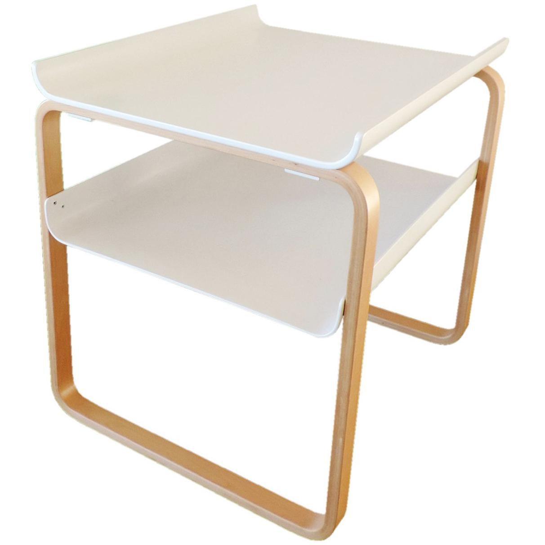 Alvar Aalto Side Table 915 Set For Sale