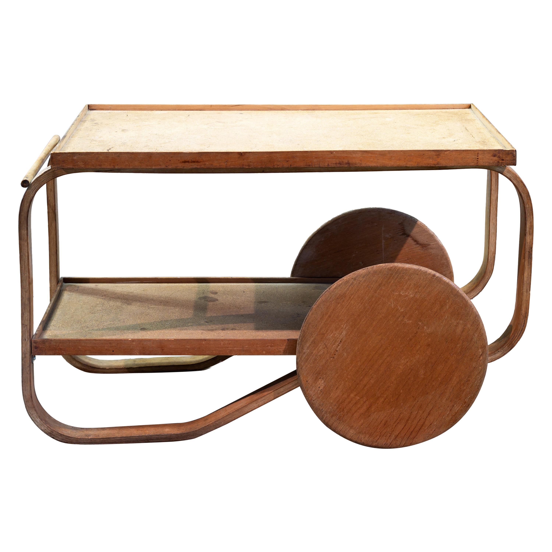 Alvar Aalto, Tea Trolley n°98c, circa 1936