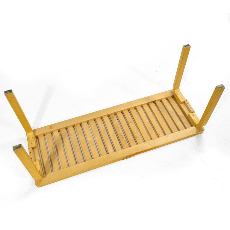 Alvar Alto Slat Bench 153A For Sale 2
