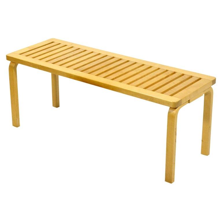 Alvar Alto Slat Bench 153A For Sale