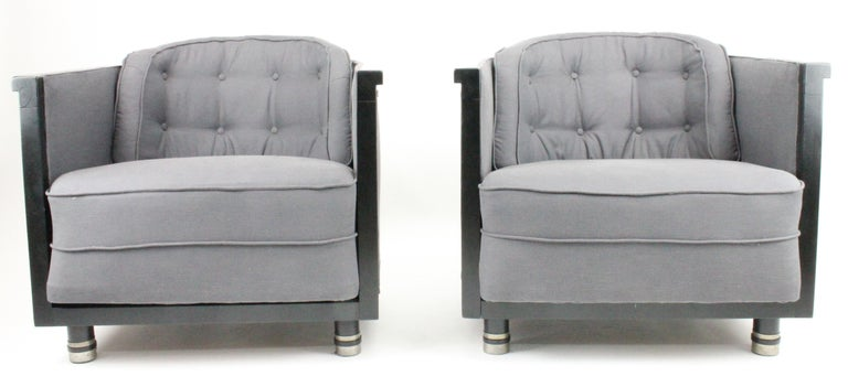 Alvar Andersson, Pair of Swedish 1930s Lounge Chairs In Good Condition For Sale In Skanninge, SE