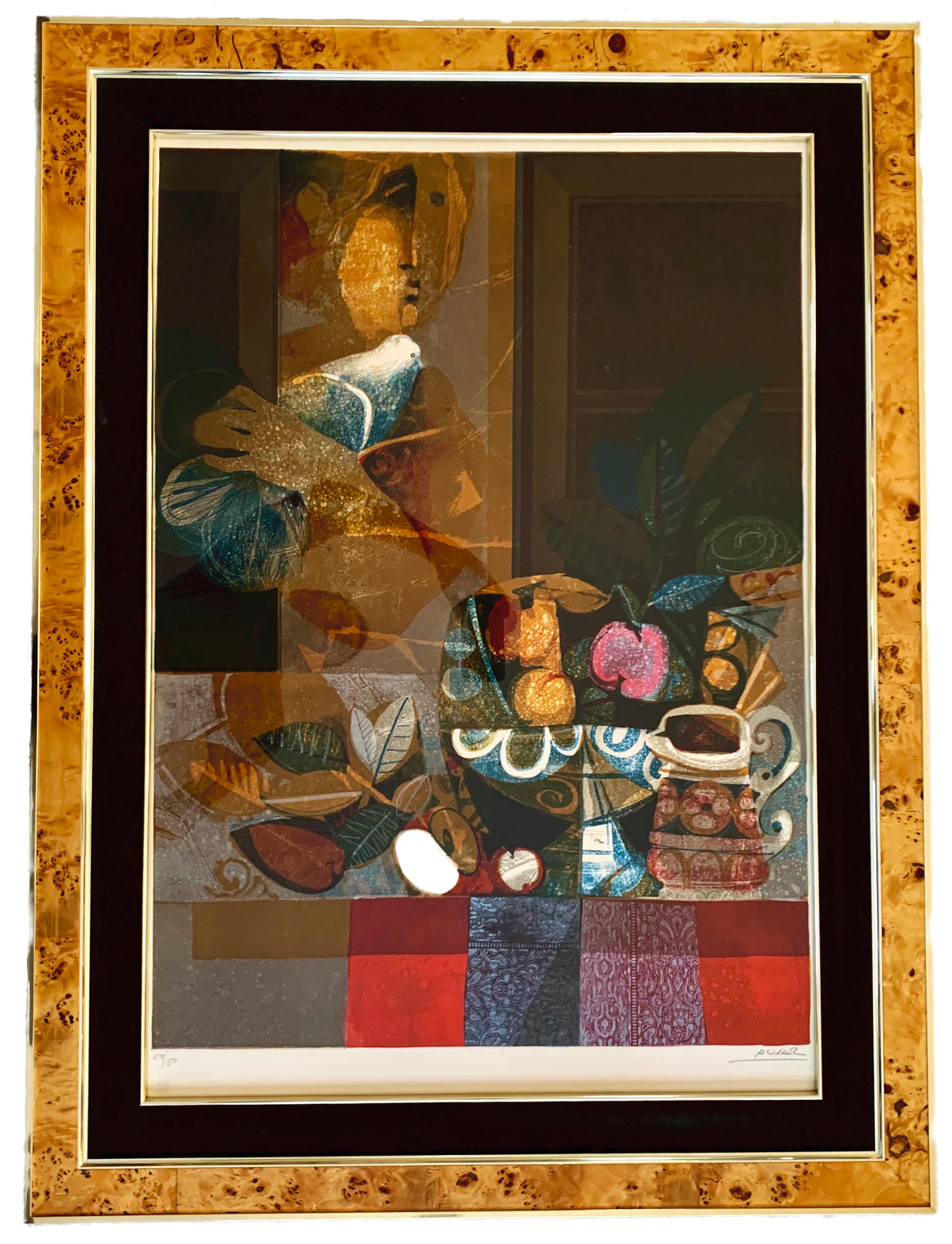 """Alvar Sunol Munoz-Ramos """"Untitled"""", limited edition signed lithograph on paper"""
