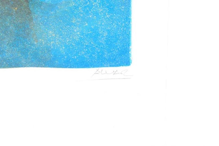 Limited Edition Signed Sunol Alvar Lithograph
