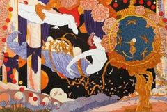 """La Telarana Magica"", 1990, Serigraph by Alvaro Barrios"