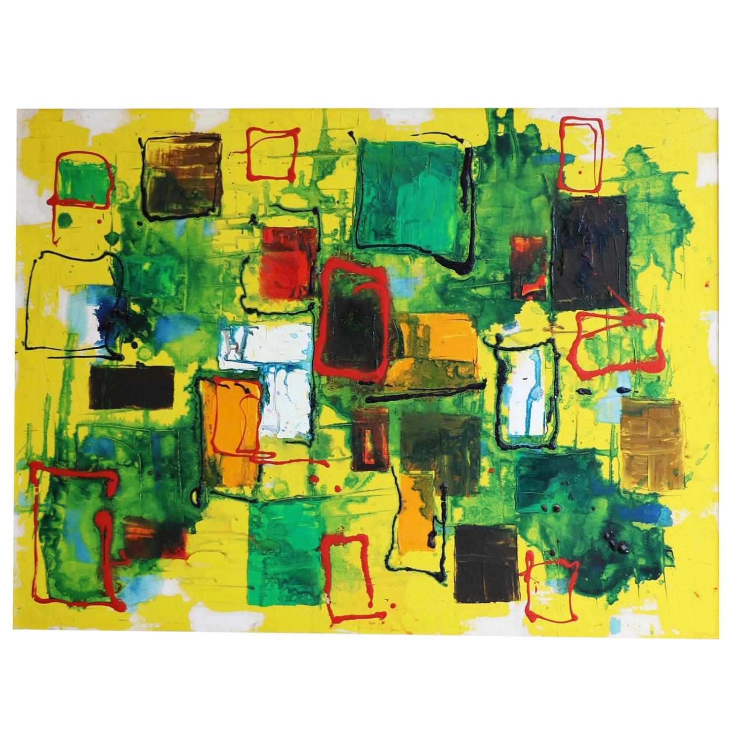 Alvin M. Cohen Original Oil on Canvas