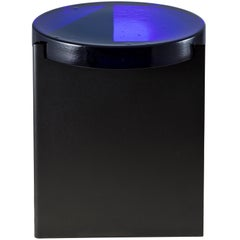 Alwa One, Table, Blue, Black Base, European, 21st Century, Minimal