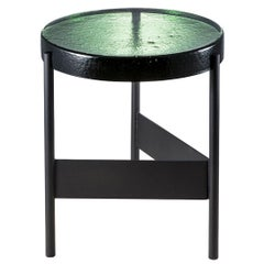 Alwa Two, Table, Green, Black Base, Minimal, European, 21st Century