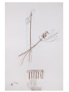 Alyson Fox - Ghost Arrangements 8 - Original Drawing