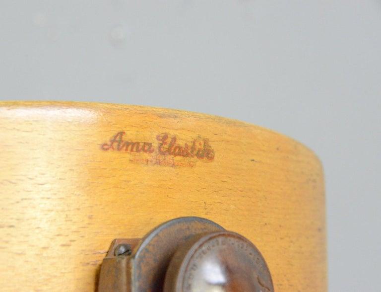 Mid-20th Century Ama Elastik Factory Chair, circa 1930s For Sale
