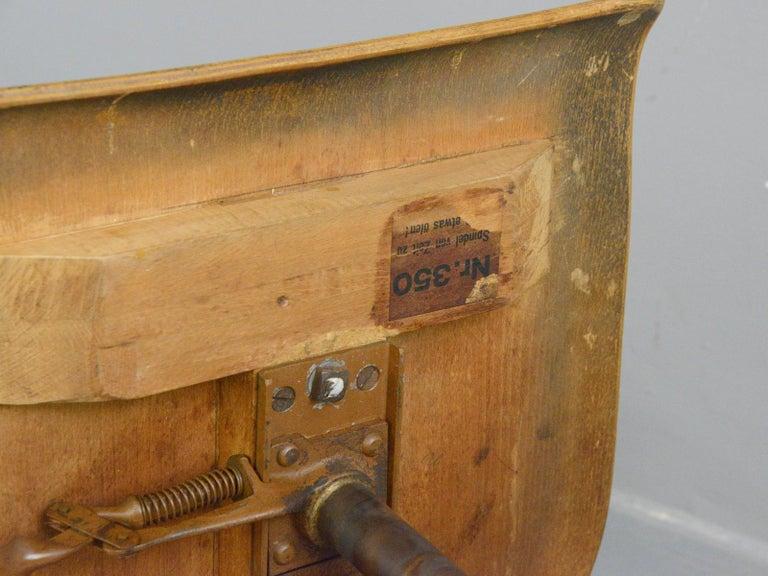 Ama Elastik Factory Chair, circa 1930s For Sale 2