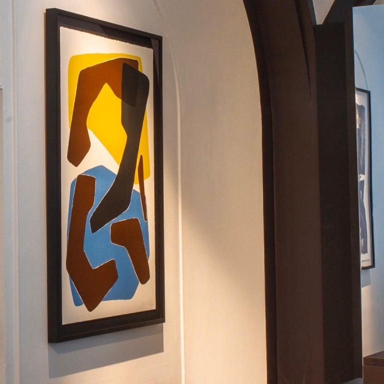 Amalgame Teinté, Screen Print, by Reda Amalou Design, 21st Century In New Condition For Sale In Paris, FR