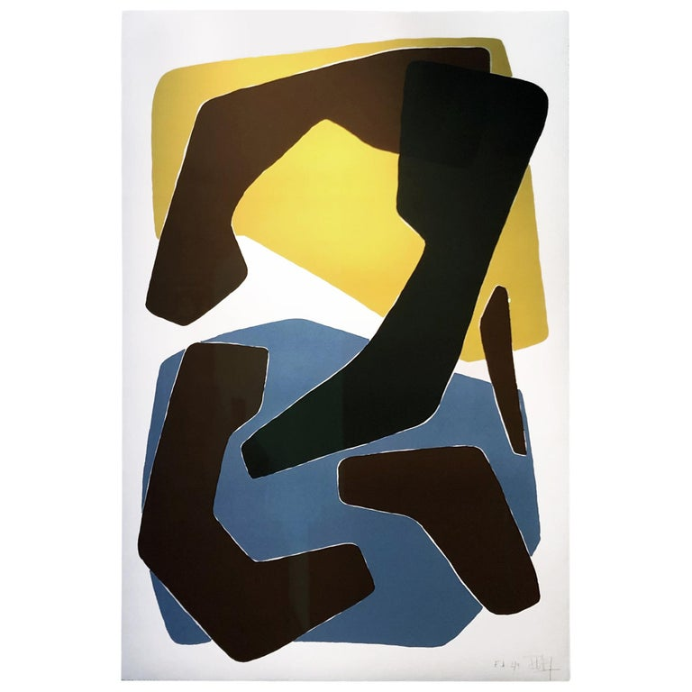 Amalgame Teinté, Screen Print, by Reda Amalou Design, 21st Century For Sale