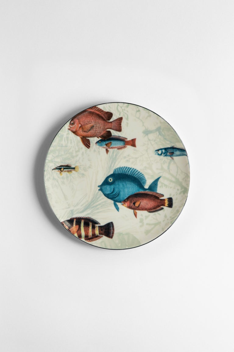 Inspired by the coral reef of the Amami Islands in Japan, the Amami collection features tropical fishes and beautiful seaweed. A perfect choice for every spot near the seaside.
