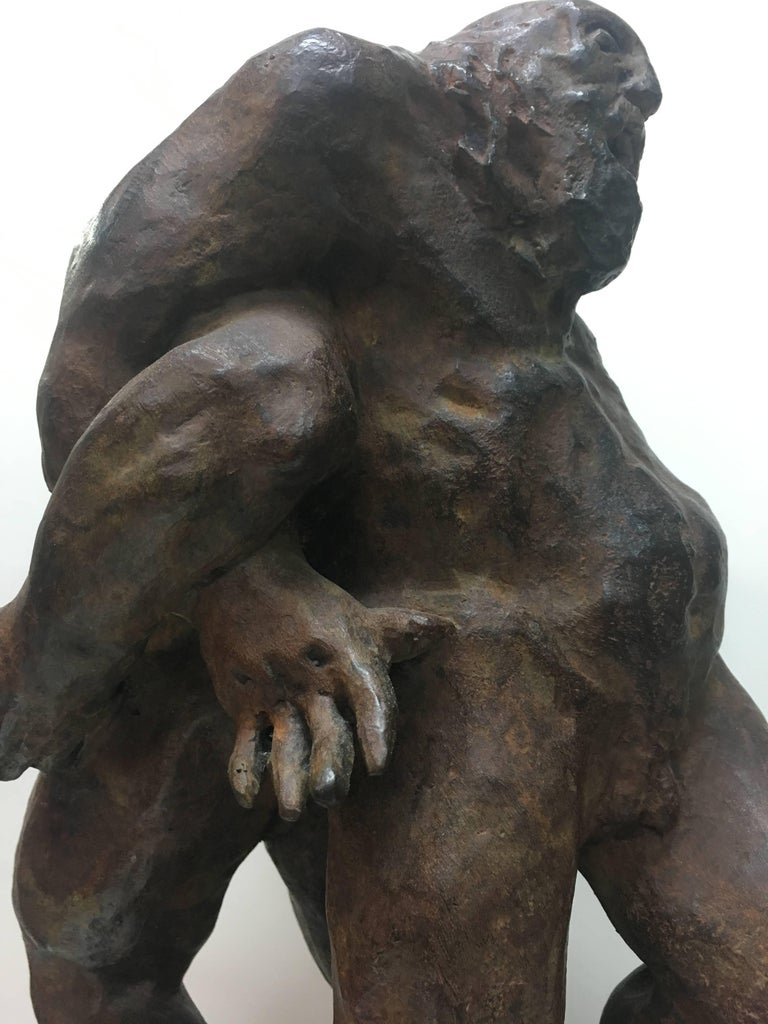 Sculpture by the Spanish artist AMANCIO GONZALEZ bronze. Series limited to 7 copies. Fantastic piece of art representing Spanish sculpture Artist well known for his large format works on the street. Very popular artist in Europe and Latin