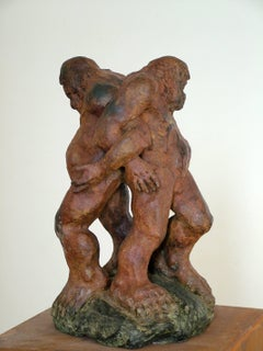 """CARNE ROTA"" Amancio- original sculpture bronze - 2008"
