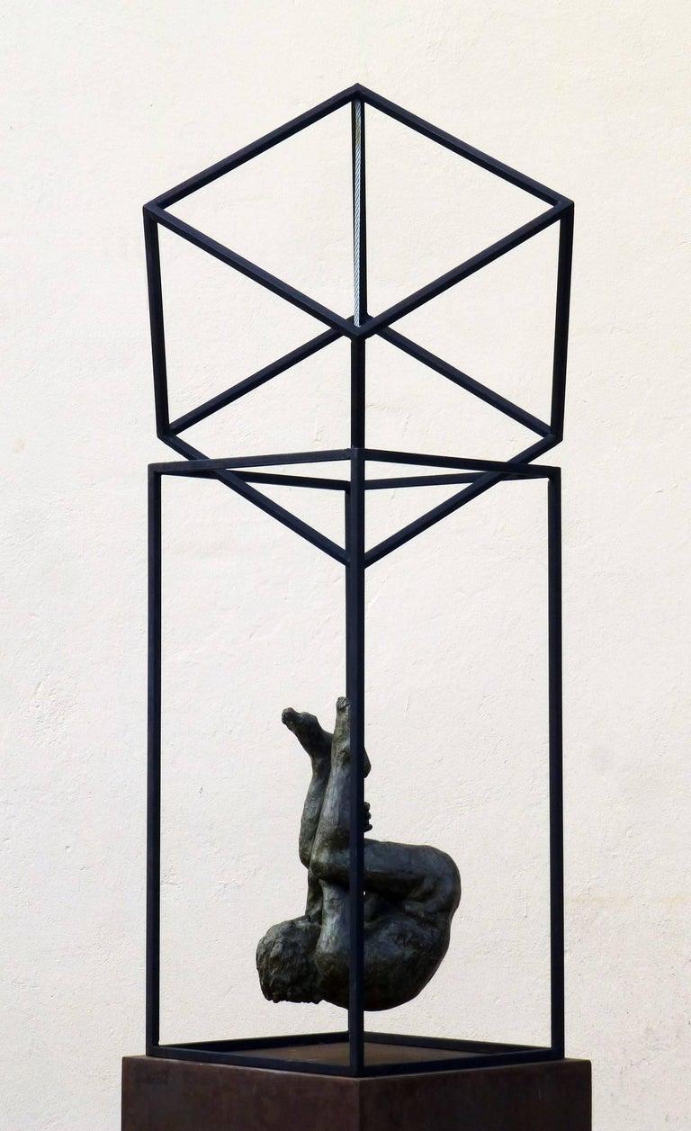 El Hombre Araña II - Contemporary Bronze Spanish Abstract Sculpture, 2017 For Sale 2