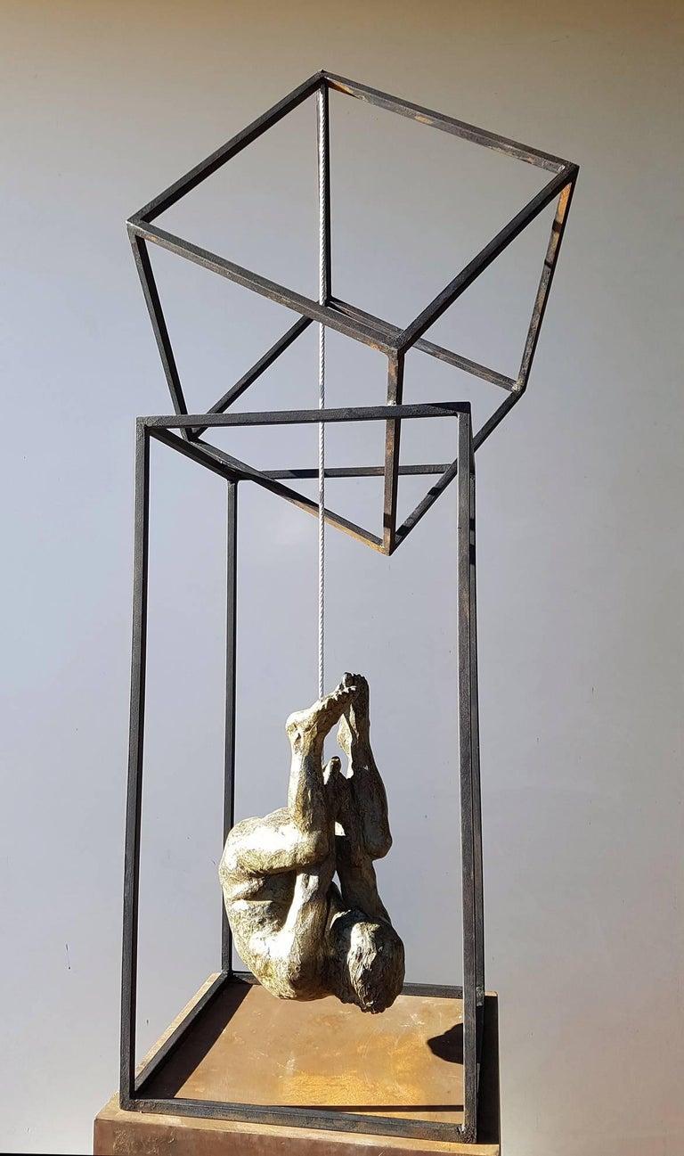 El Hombre Araña II - Contemporary Bronze Spanish Abstract Sculpture, 2017 For Sale 3