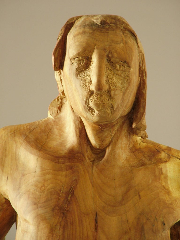 Perseo. wood. original  sculpture For Sale 1
