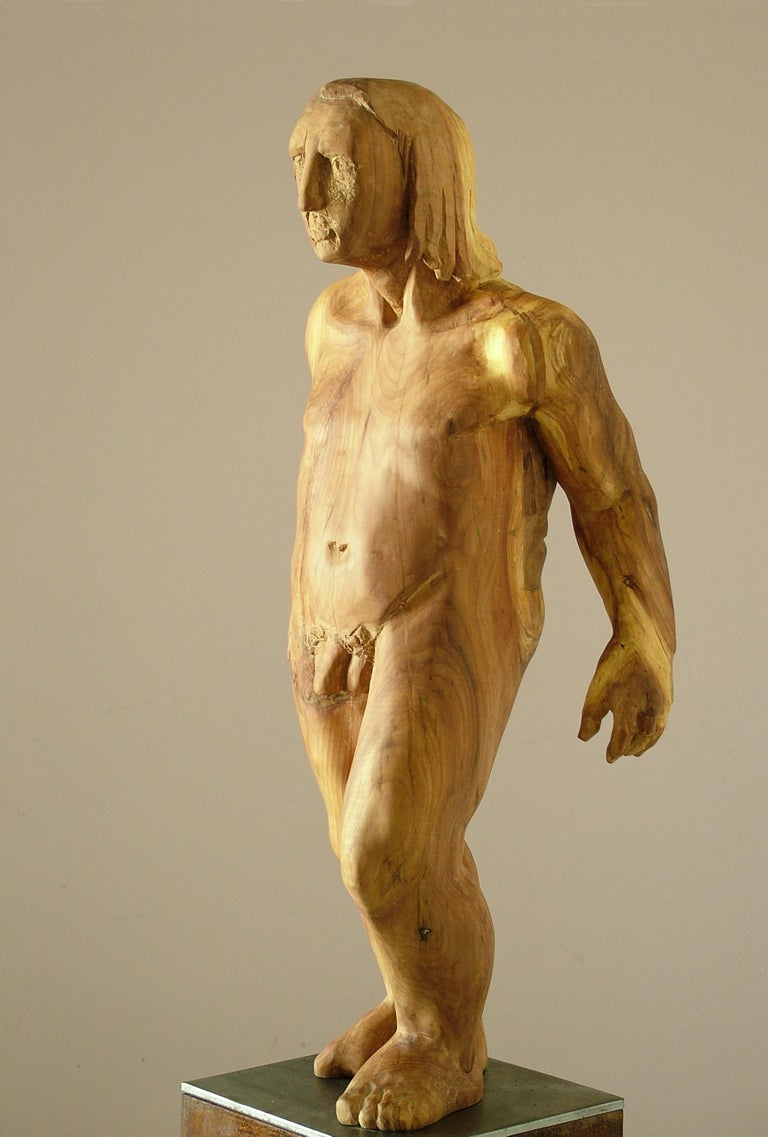 Perseo. wood. original  sculpture For Sale 2