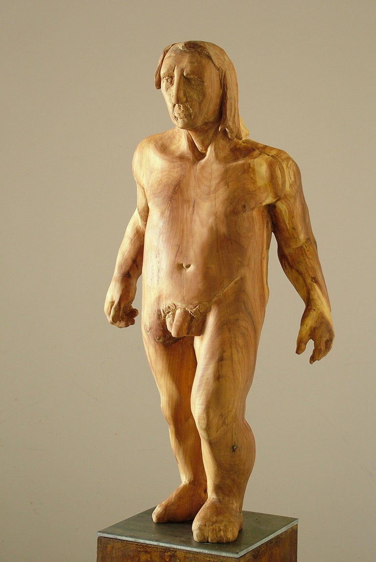 Perseo. wood. original  sculpture For Sale 3