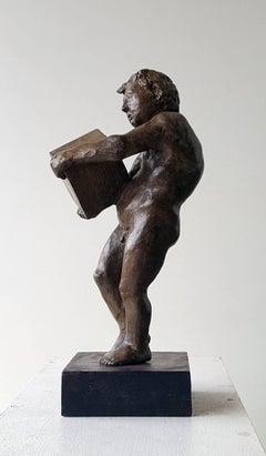 The First rock- original sculpture bronze iron.