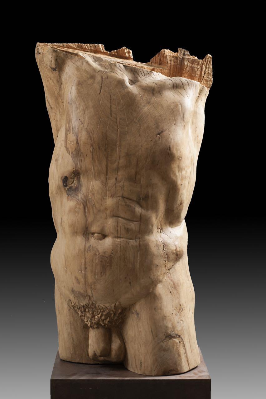 torso 3. original wood sculpture